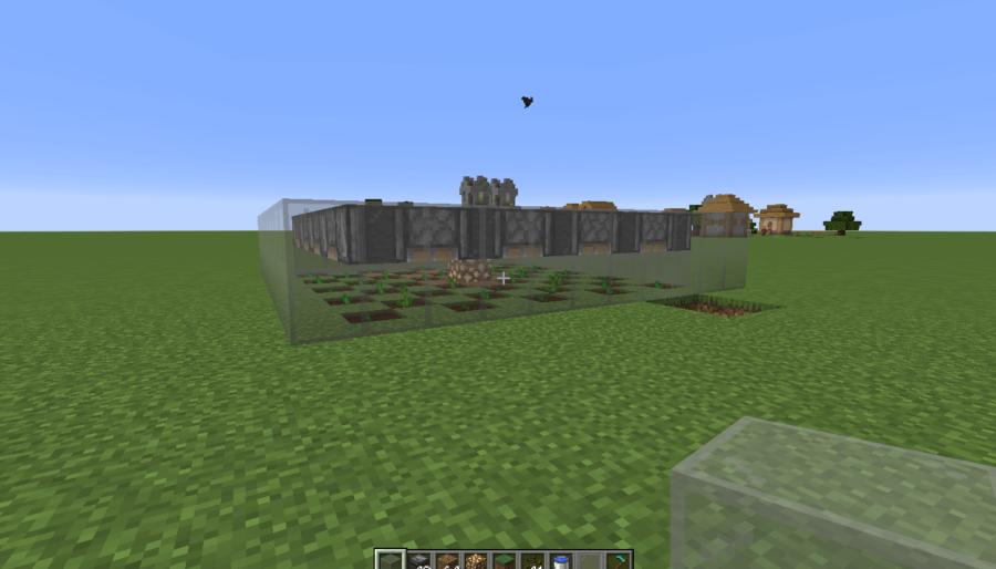 A screenshot of a completed melon farm.