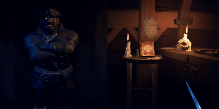 A screenshot of the Mysterious Stranger and Shroudbreaker book.