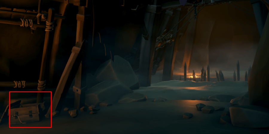 The Journal in the lair pathway near the spike trap.