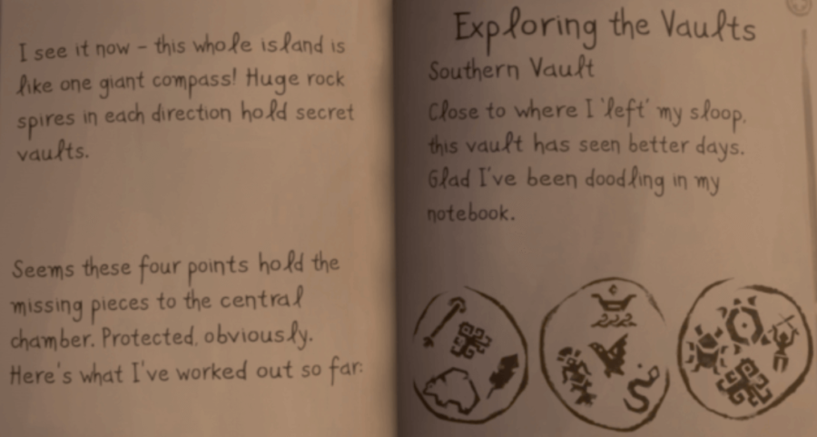 Briggsy's Notes about the South Vault.