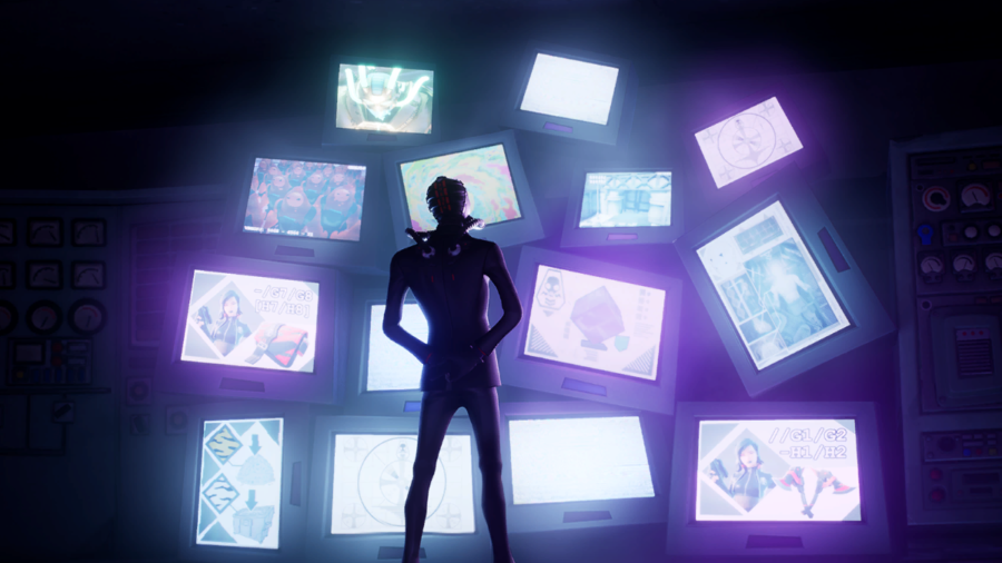 A Fortnite Loading Screen with lots of screens.
