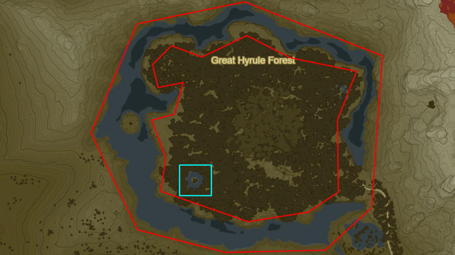 Stealthfin Trout fishing locations in BotW.