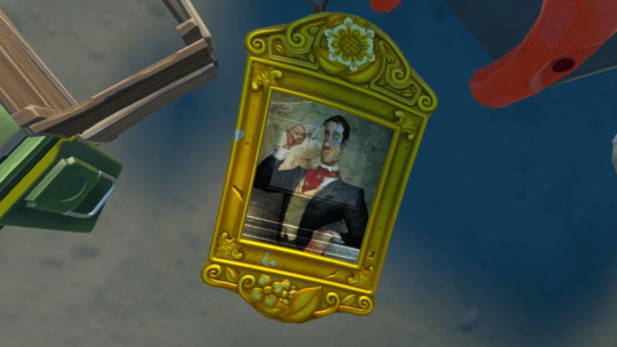 A Portrait in Fortnite.