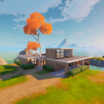 The Beachside Mansion in Fortnite.