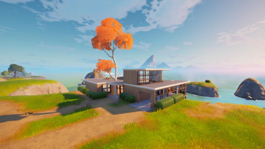 The Beachside Mansion in Fortnite.