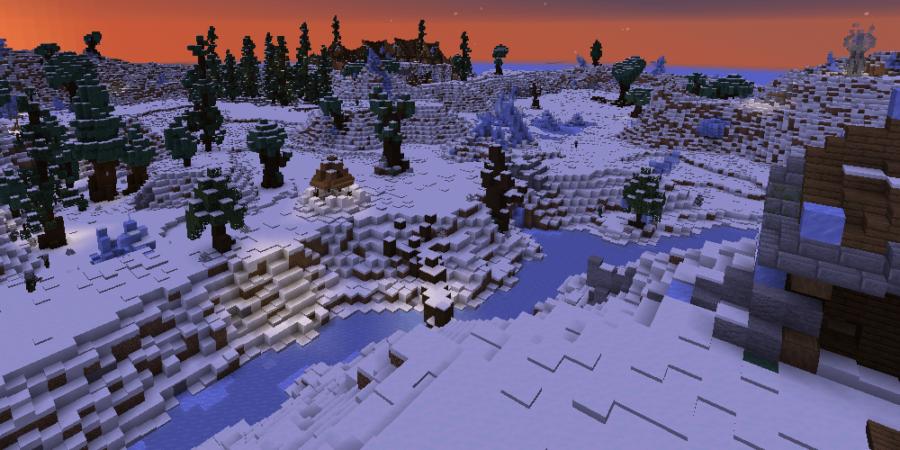 A screenshot of the Minecraft Map Atla's Hope.
