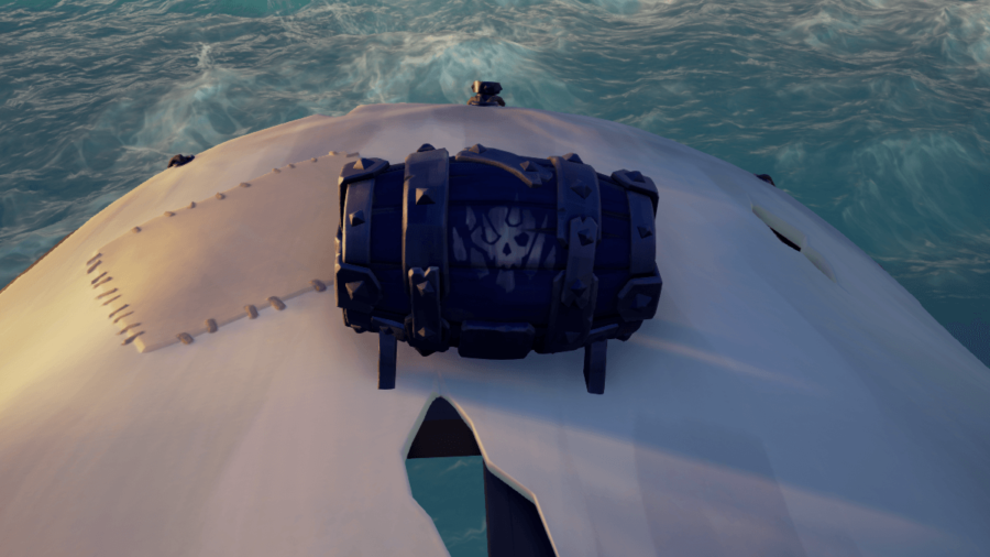 The Trapmaker's Gunpowder Key in Sea of Thieves.