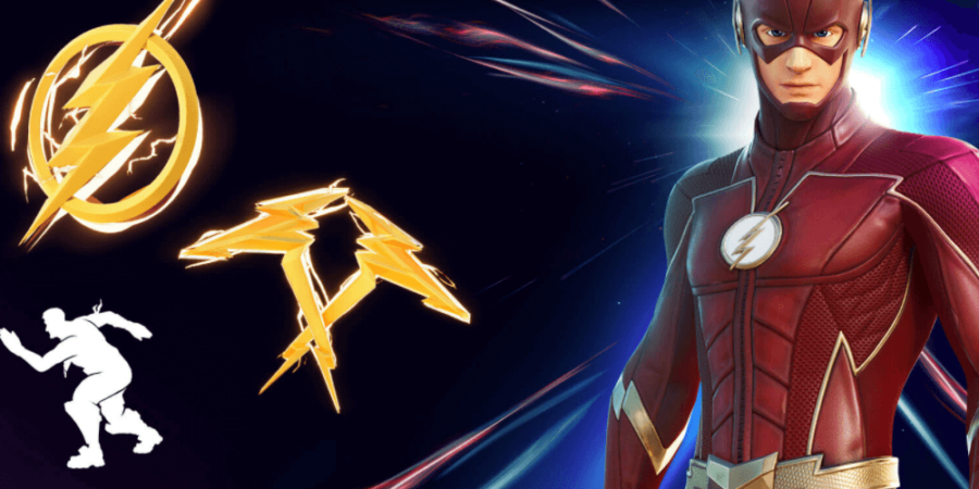 The images for the Flash Items in Fortnite.