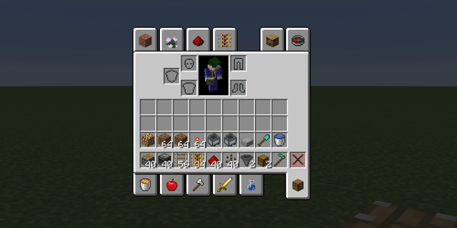 A screenshot of the necessary resources for the melon farm.