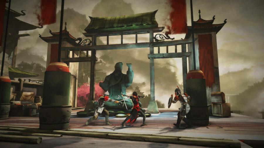 Screenshot of Assassin's Creed: Chronicles China