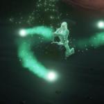 The final scene in the Heart of Fire Tall Tale.