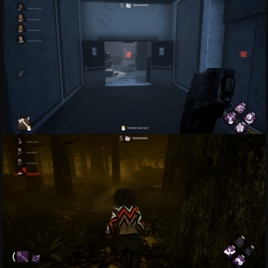 The HUD Update for Dead By Dayling.