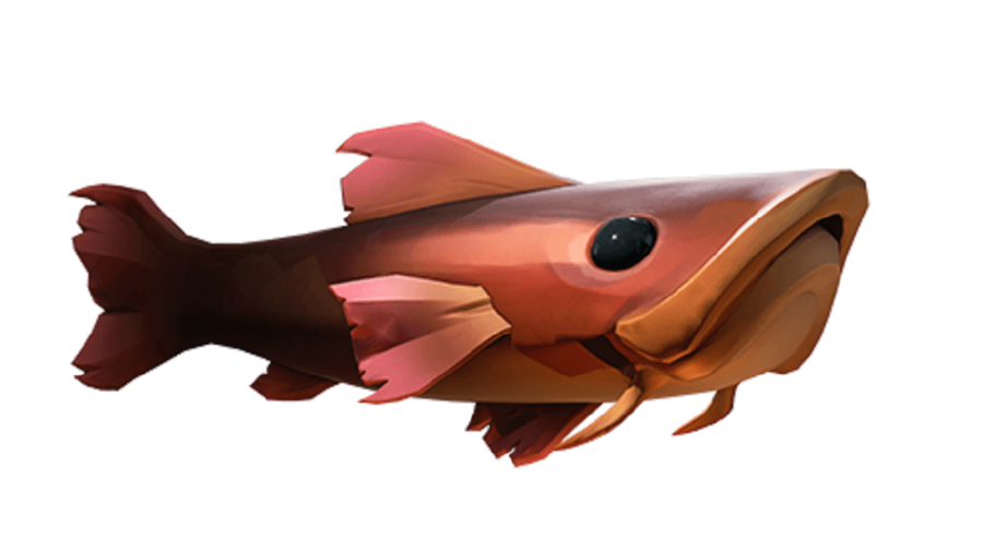 An ancientscale fish from Sea of Thieves.