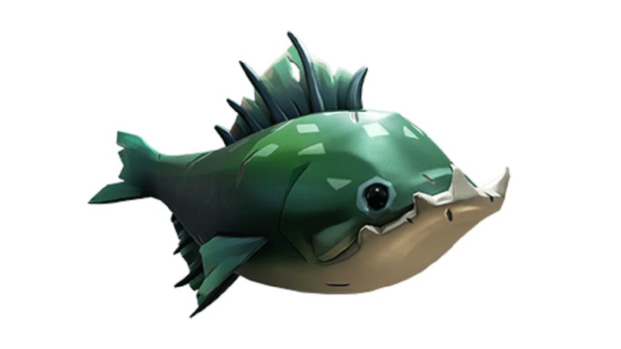 A battlegill fish from sea of Thievs.