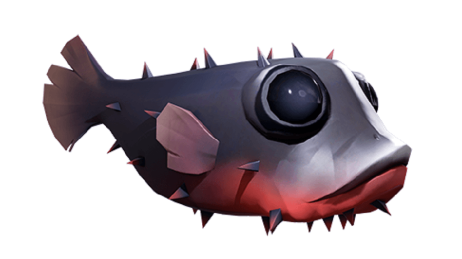 An Islehopper fish from Sea of Thieves
