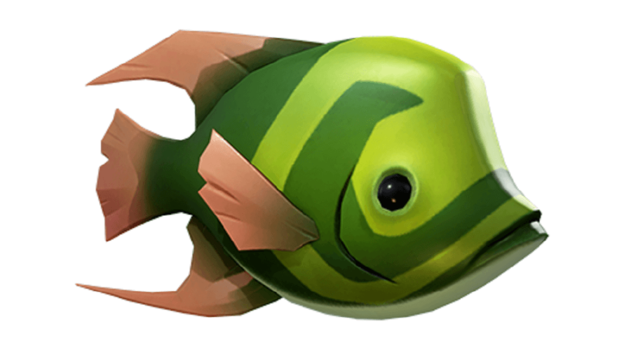 A plentifin fish from Sea of Thieves.
