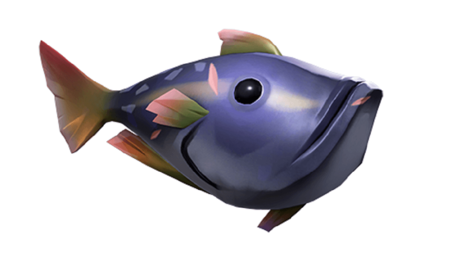 A pondie fish from Sea of Thieves.