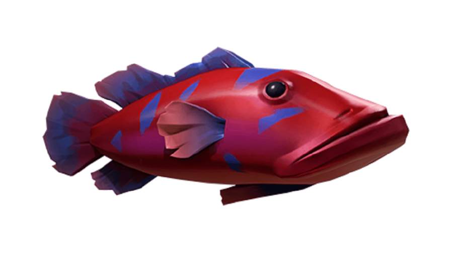 A splashtail fish from Sea of Thieves.