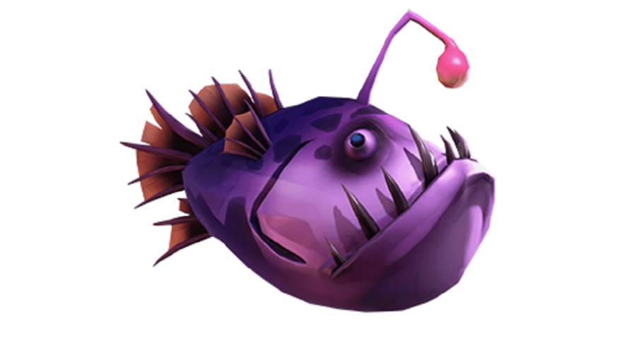 A Wrecker fish from Sea of Theives.
