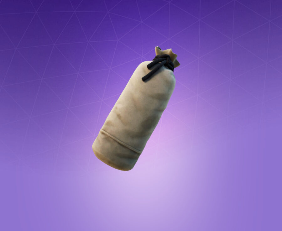 Training Bag Back Bling