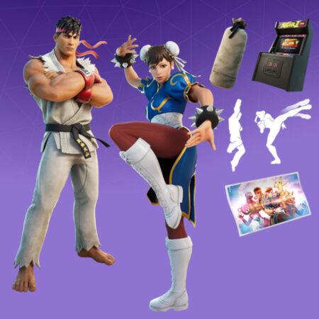 Ryu & Chun-Li Bundle
