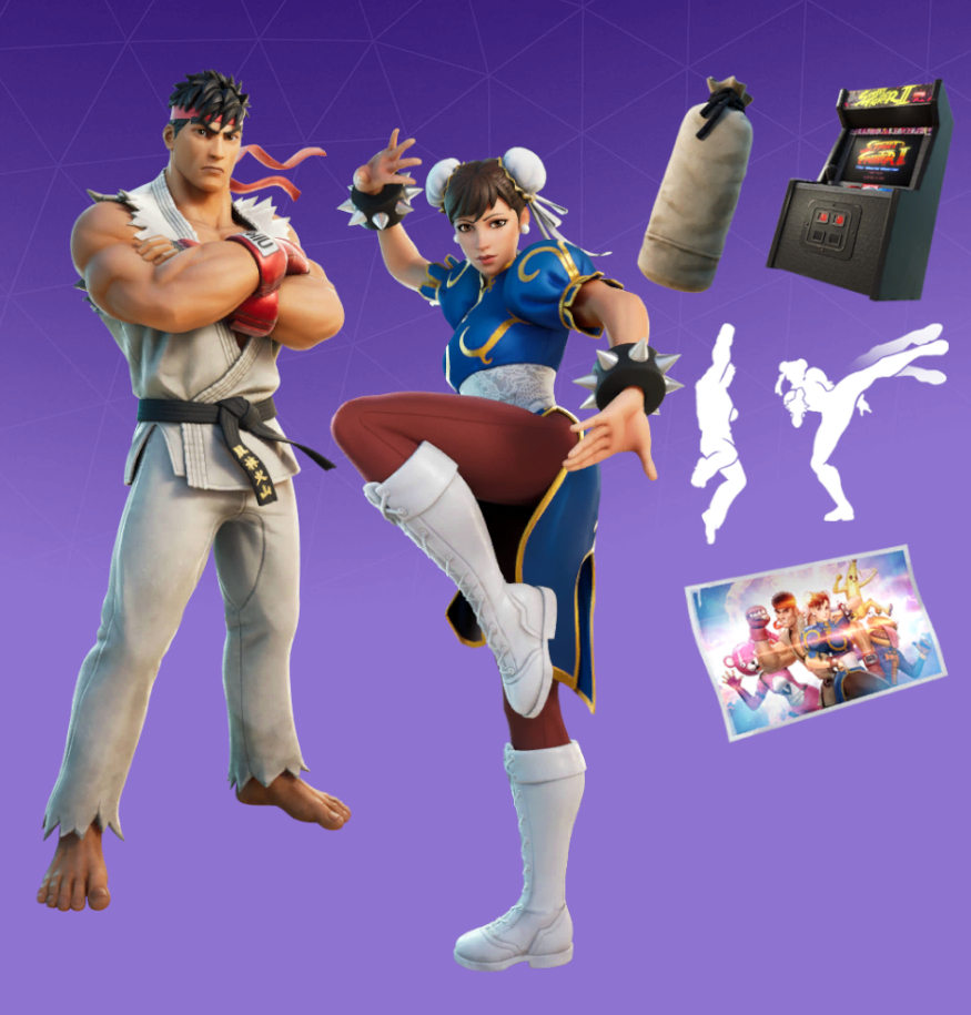 Ryu & Chun-Li Bundle Bundle