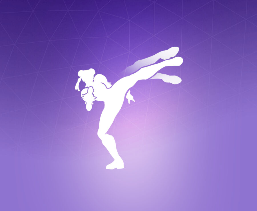 Lightning Kick! Emote