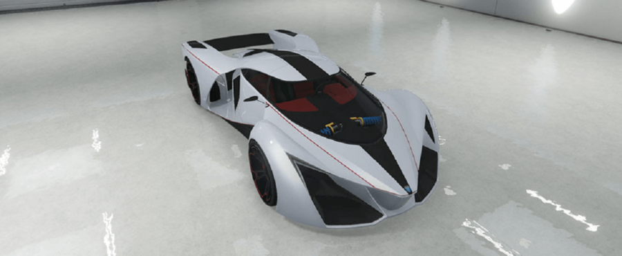 A customized Grotti in GTA V.