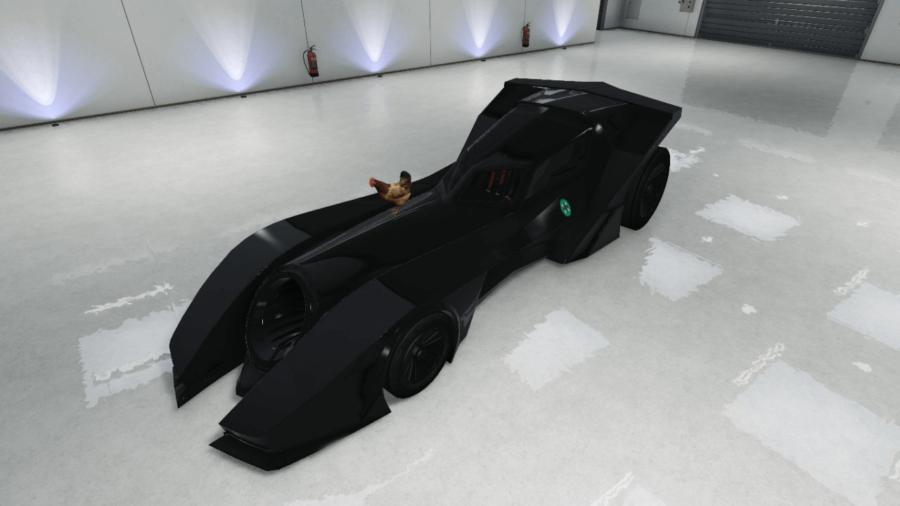 A customized Vigilante in GTA V.