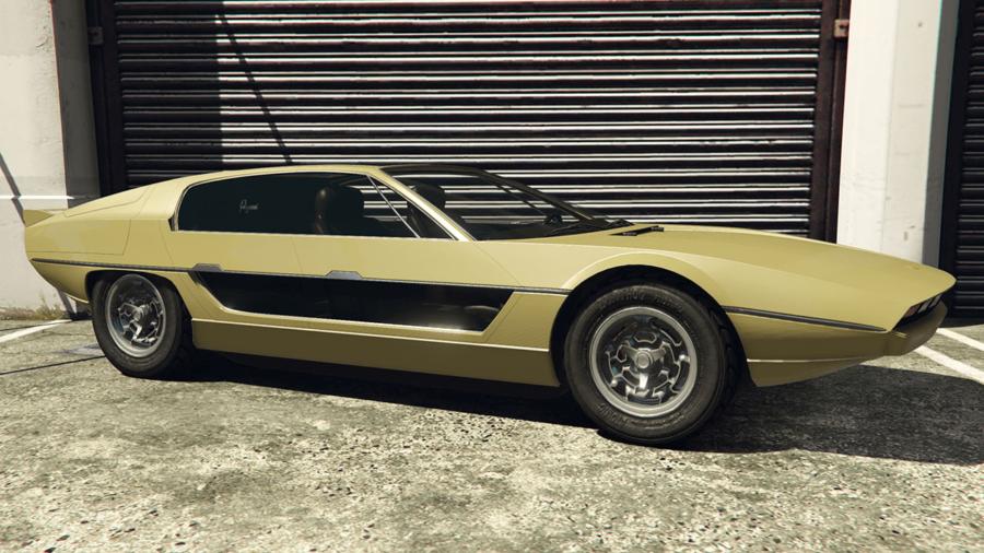 A customized Toreado in GTA V.