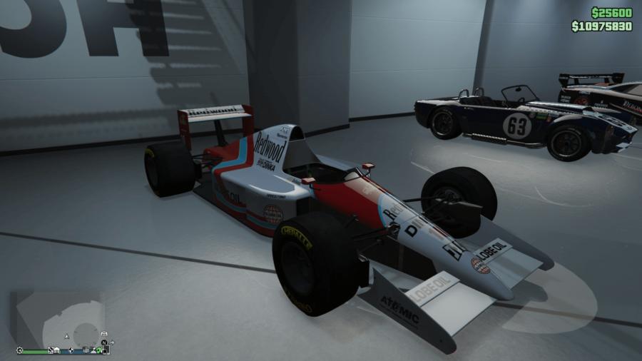 A customized PR4 in GTA V.