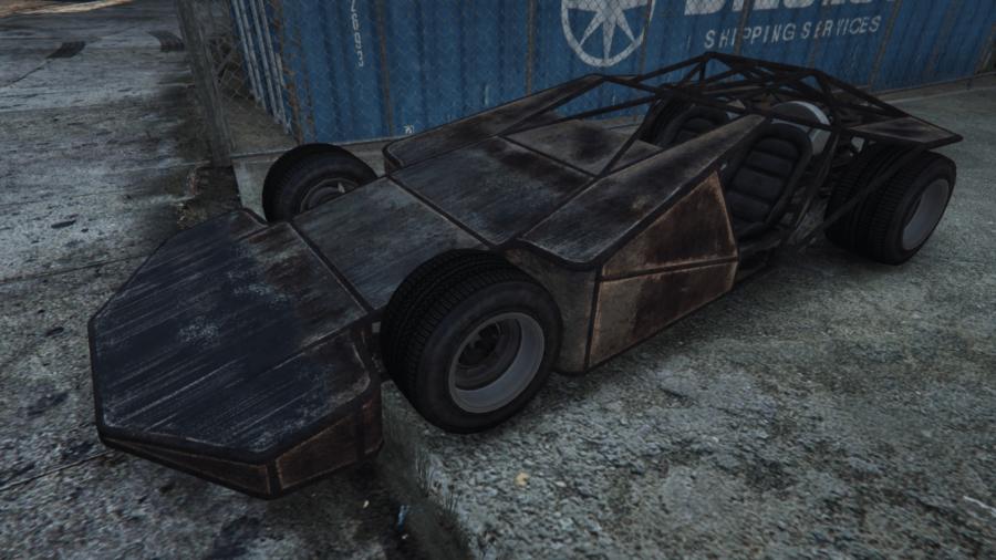 A customized Ramp Buggy in GTA V.