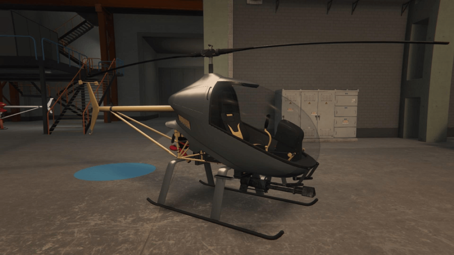 A customized Havok in GTA V.