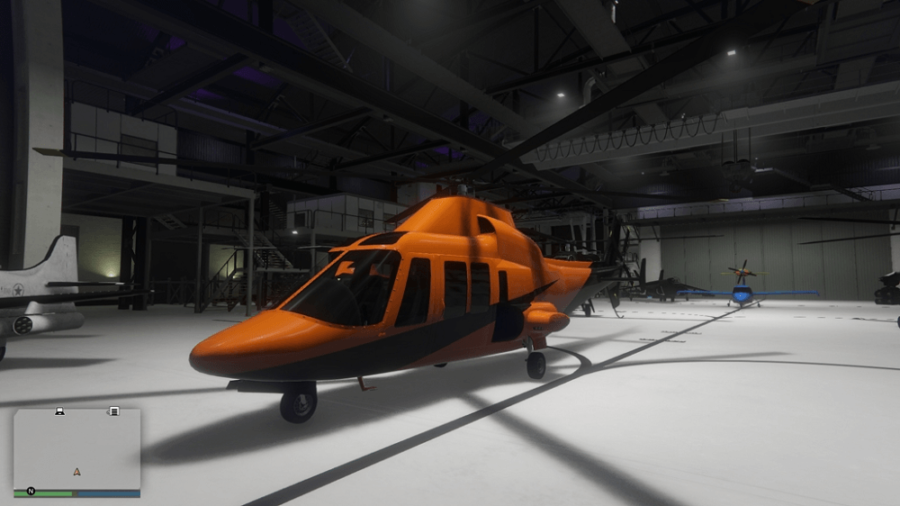 A customized Swift in GTA V.