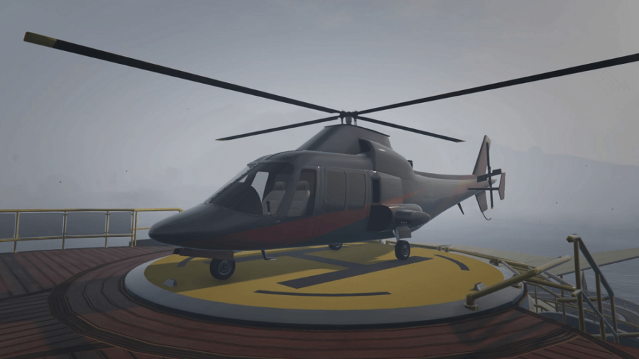 A customized Swift Deluxe in GTA V.