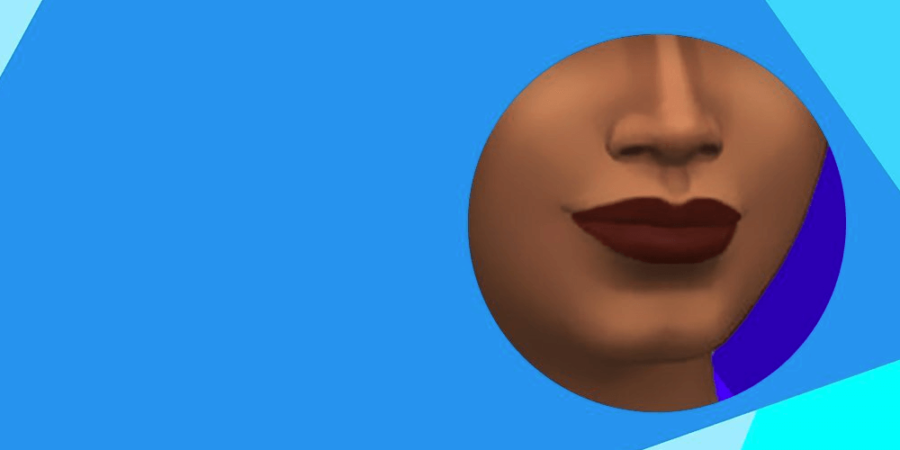 The lipstick included in the Sims anniversary update.