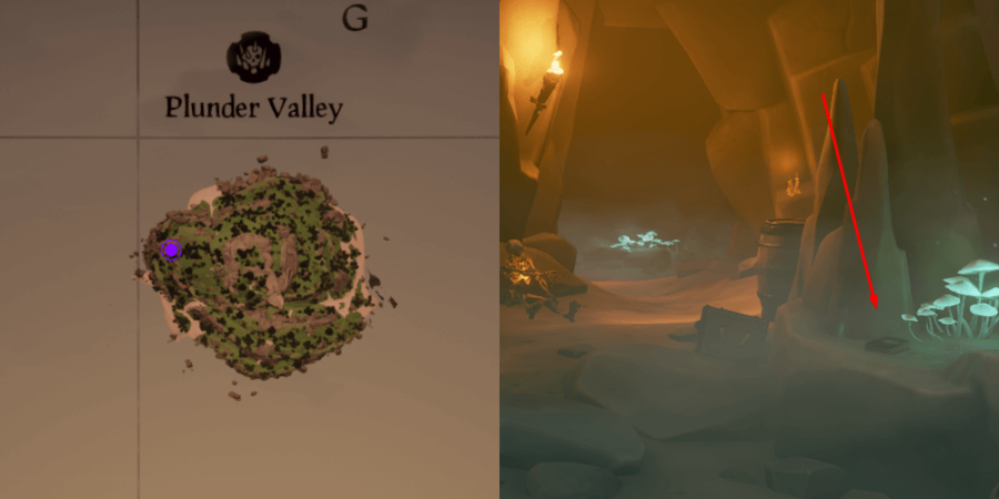 The Art of the Trickster Journal location on Plunder Valley.