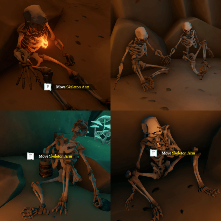 The Skeleton formations for Art of the Trickster.