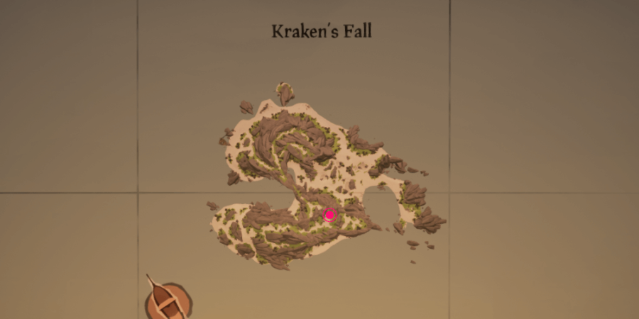 The Enchanted Lantern's location on Kraken's Fall.