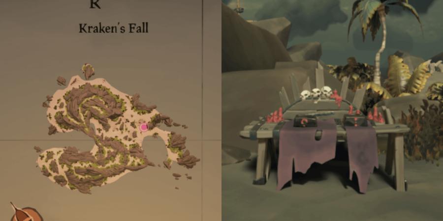 The Altar Location on Kraken's Fall.