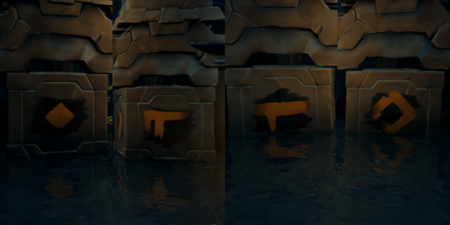 Key solution in the East Vault.
