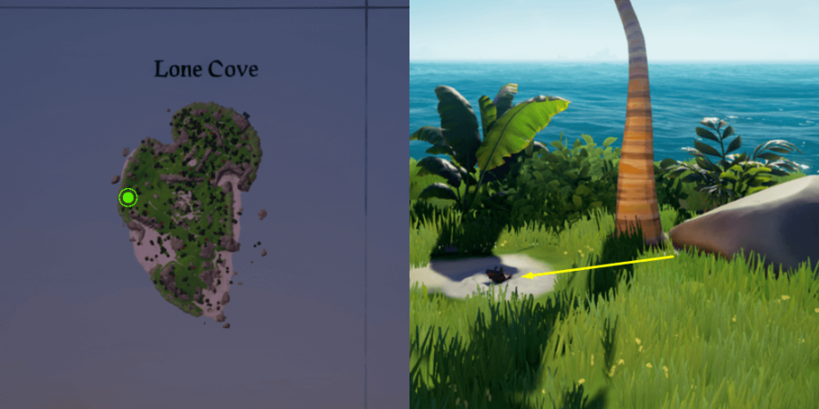 The Music Box location on Lone Cove.