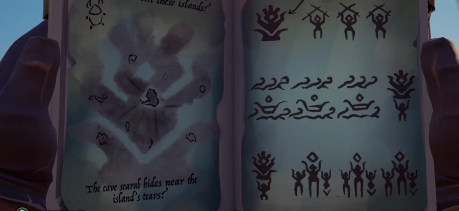 An example of the first possible puzzle.