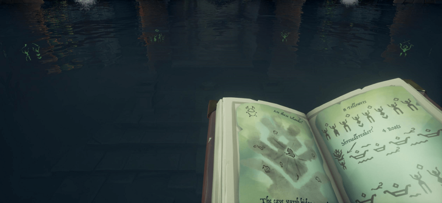 An example of the second vault puzzle.