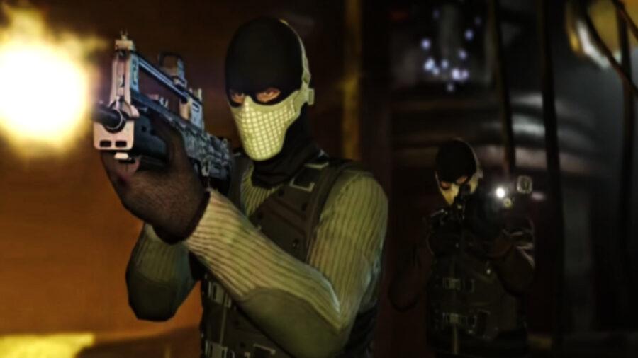 Screenshot of GTA 5 Online gameplay trailer
