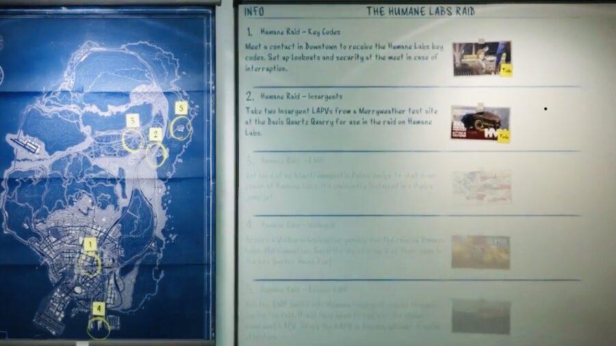 Screenshot of GTA 5 Online game play