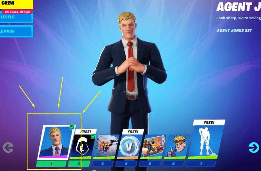How to get Agent Jones in Fortnite.