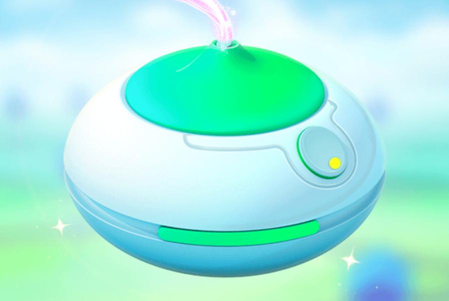 Incense in Pokemon go.