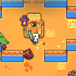 The Forager Eye Statue Puzzle.