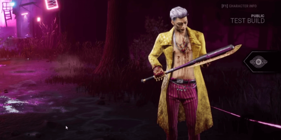 The Trickster in Dead by Daylight.